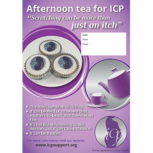Afternoon Tea for ICP poster